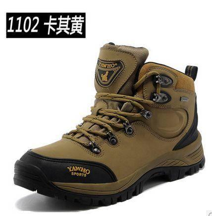 新款男鞋 运动休闲 夏 登山鞋男正品 高帮户外男鞋户外鞋 男士运动徒步鞋保暖防水鞋 包邮