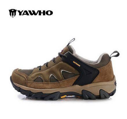 新款男鞋 运动休闲 夏 户外鞋男女士透气情侣登山鞋内增高女鞋防水防滑徒步越野鞋 包邮