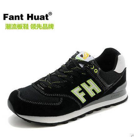 包邮 跑步鞋韩版网布板鞋子潮流夏季nb运动男鞋透气休闲鞋