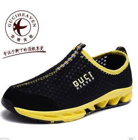 休闲运动鞋镂空透气男鞋潮鞋2014夏季新款透气鞋男鞋