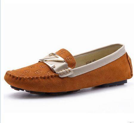 妈妈鞋平底欧美豆豆鞋2014夏季韩版新款平跟圆头女单鞋女鞋
