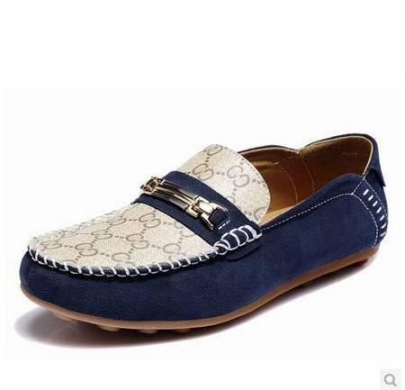 牛皮休闲鞋磨砂男士豆豆鞋懒人鞋新款英伦休闲男鞋包邮