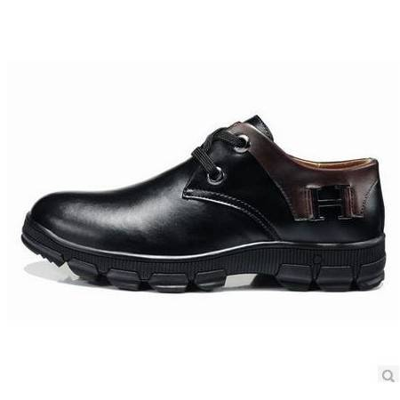 日常休闲商务潮鞋系带低帮鞋英伦流行男鞋低帮鞋包邮