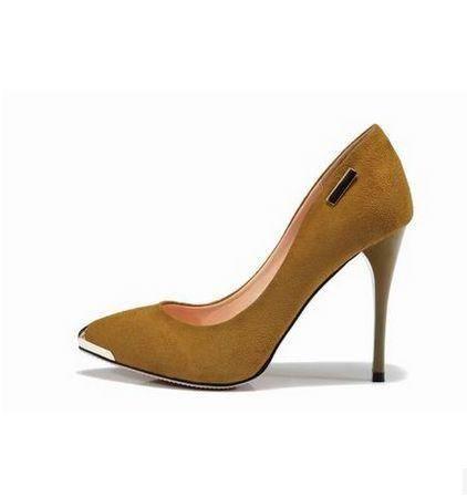 舒适尖头女单鞋女优雅浅口低帮鞋新款秋季女鞋细跟高跟鞋包邮
