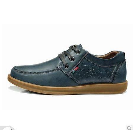 男士板鞋牛皮皮鞋新款英伦流行男鞋休闲鞋低帮鞋包邮