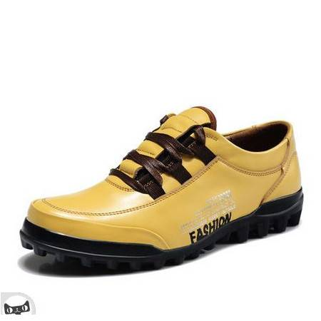 驾车男鞋休闲皮鞋 工装鞋潮板鞋透气真皮运动休闲鞋 包邮