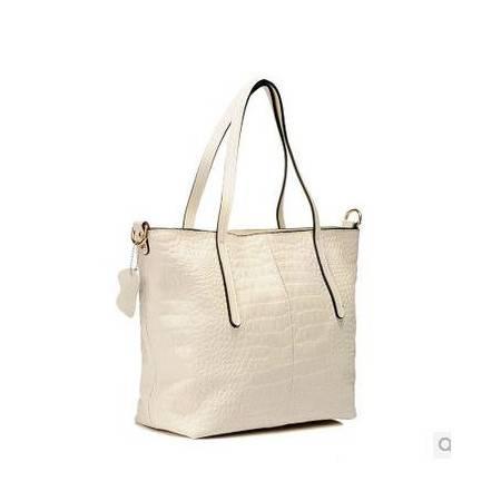 欧美简约时尚牛皮女包手提复古购物包袋休闲单肩包女大包 包邮 时尚女包