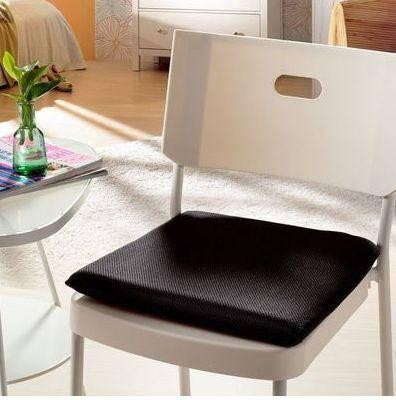 慢回弹网眼坐垫 美臀 办公室椅垫 椅子地垫沙发垫  新款上市柔软舒适方形慢回弹网眼坐垫餐椅汽车垫