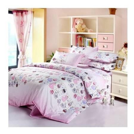 全棉天竺棉家纺 床上用品纯棉四件套 床上用品纯棉四件套全棉床单被套四件套件运动风 多种颜色