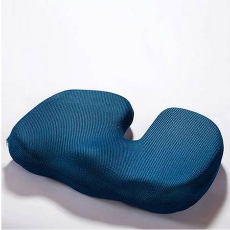 3D网眼U型美臀坐垫  慢回弹 办公室椅垫 地垫沙发垫   办公女士美臀垫 舒适记忆棉坐垫塑臀垫 翘