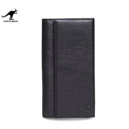 夏季新款韩版钱包男长款 头层牛皮男款皮真 多功能韩版潮头层牛皮时尚男手机包