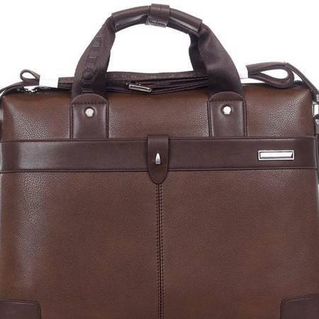 新款电脑包 品牌电脑包男包单肩斜跨手提包电脑包包邮