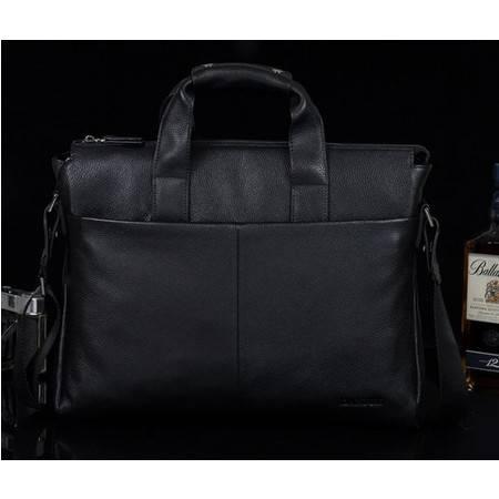 韩版风范 横款手提单肩 厂家直销正品 时尚商务男士真皮包 包邮731