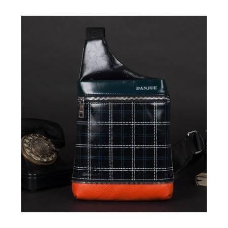 新款时尚休闲包正品头层牛皮男包通用 真皮斜挎胸包 包邮801