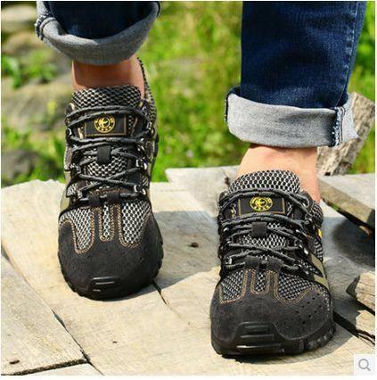 男鞋网鞋旅游鞋夏季网布鞋透气鞋男士运动鞋气垫网面跑鞋