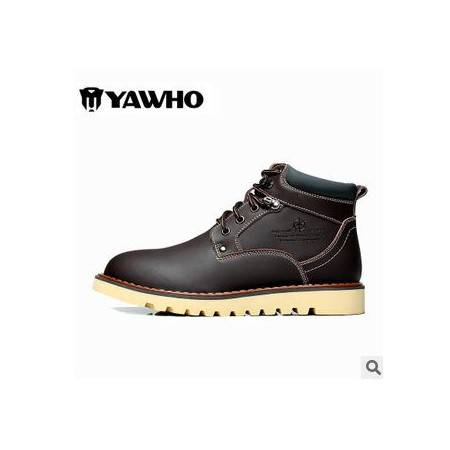 真皮靴户外工装靴特种兵军靴战靴男士沙漠靴男靴子马丁靴短靴英伦包邮0916
