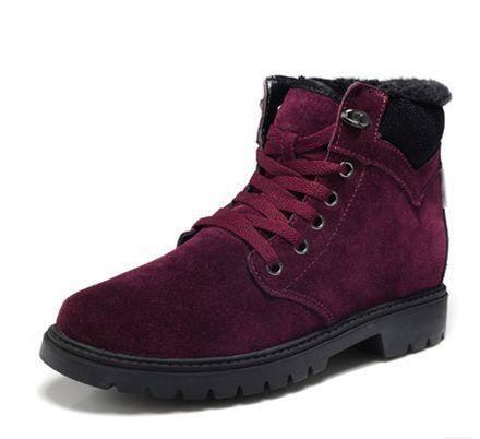 韩版加绒男棉鞋青年休闲靴子男男士棉靴冬季短筒雪地靴男包邮0922