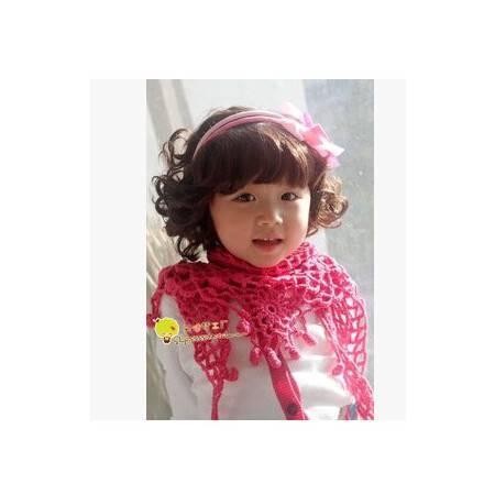 可爱宝宝 婴幼儿童摄影拍照相儿童爆炸球迷假发jiafa新航