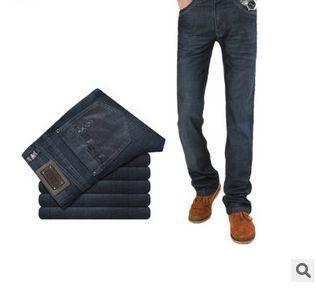 新款品牌时尚男装韩版修身男式牛仔裤直筒薄款休闲长裤龙仕顿1217