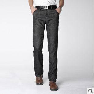 韩版修身男式长裤子冬装新款厚款保暖青年男裤龙仕顿包邮1230