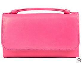 新款韩版糖果色长款钱包甜美女士大容量手拿包包潮