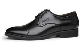 商务正装真皮男士皮鞋单鞋 温州男鞋真皮男鞋白象