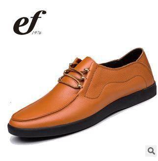 男士皮鞋温州商务男皮鞋真皮韩版鞋2015男士新款日常休闲男鞋白象包邮