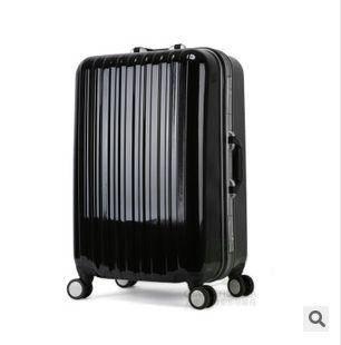 旅行箱包行李箱登机箱子万向轮男女20寸24寸铝框美琪包邮
