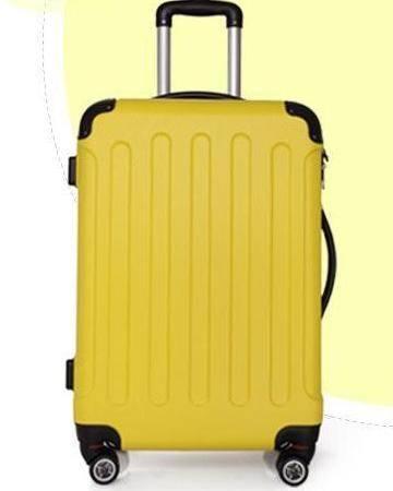 拉杆箱 24寸单拉旅行箱ABS防刮磨砂款 美琪包邮