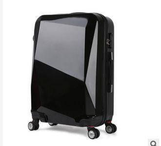 切割面拉杆箱万向轮旅行箱包学生行李箱登机箱美琪包邮