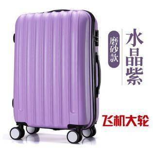 登机行李箱磨砂紫新款飞机万向大轮拉杆旅行箱包 美琪包邮