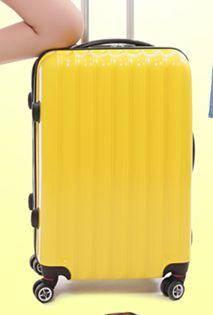 20寸登机箱 24寸旅行箱包新品PC万向轮拉杆箱行李箱美琪包邮