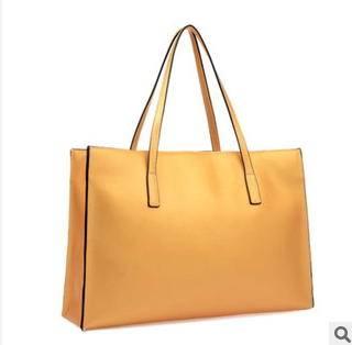 新款欧美时尚潮流大气珠光女士单肩手提大包征途包邮