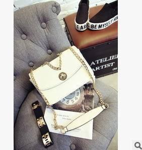 女士单肩斜挎手提包新款韩版时尚小香风锁扣包征途