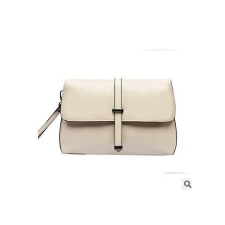 女士多隔层手拿包包韩版时尚新款牛皮单肩斜跨小包征途包邮