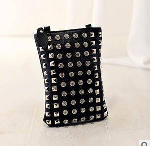 女士手机包零钱包 欧美时尚新款柳丁单肩斜挎小包征途