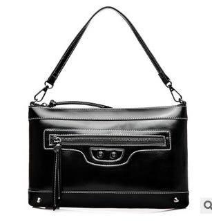 女士手提包手拿包韩版时尚新款牛皮单肩斜跨小包征途包邮