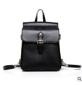 2014新款欧美时尚潮流V字纹双肩背斜跨手提女包征途包邮