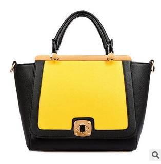 单肩斜跨锁扣包2014新款时尚潮流女士手提包征途包邮