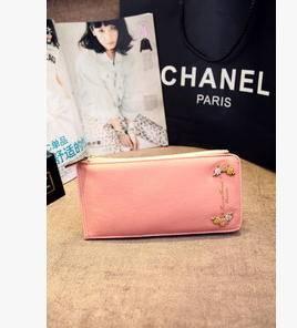 零钱包2015新款韩版时尚潮流小花女士长款钱包卡包征途