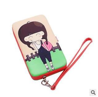 女士多用票夹钱包新款时尚卡通可爱钱包手包征途