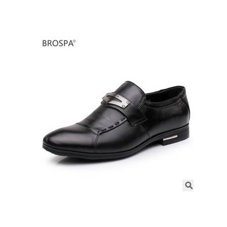 真皮牛皮商务时尚休闲鞋单鞋新款高档男士正品皮鞋富宏包邮