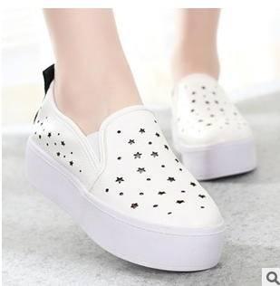 透气耐磨粗跟时尚女鞋2015夏季新款韩版风个性网纱单鞋富宏包邮