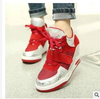 韩版时尚流行高帮拼色女士女鞋夏季新款潮流透气女鞋富宏包邮