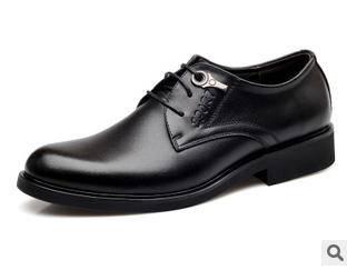 品牌英伦温州皮鞋子潮男鞋春新款真皮休闲男鞋承发