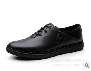 男士真皮休闲皮鞋韩版英伦男鞋单鞋新款商务休闲鞋 承发