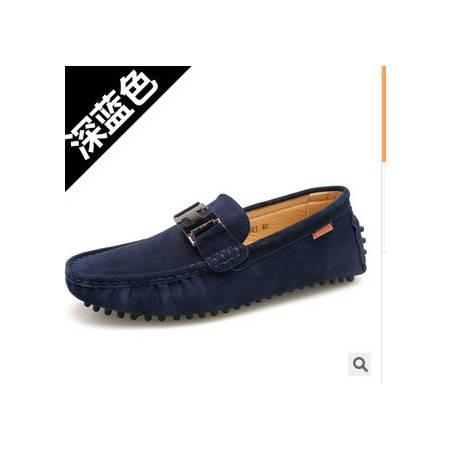 时尚日常休闲男单鞋鞋子男鞋新款男士豆豆鞋承发包邮