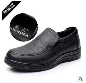 皮鞋真皮男鞋英伦外贸春季男士休闲皮鞋承发