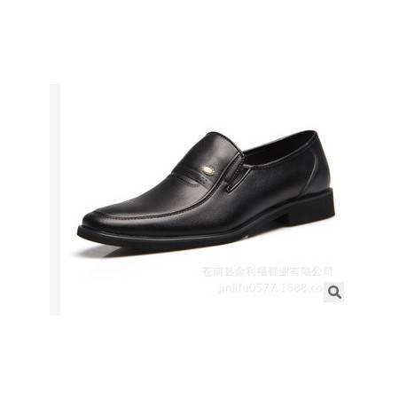 真皮男鞋商务正装皮鞋品牌温州男鞋子承发