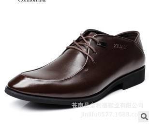 品牌男鞋温州男鞋英伦潮鞋2015新款男士休闲皮鞋承发